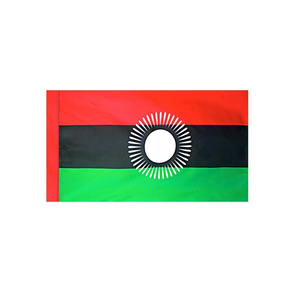 Malawi Flagwith Polesleeve