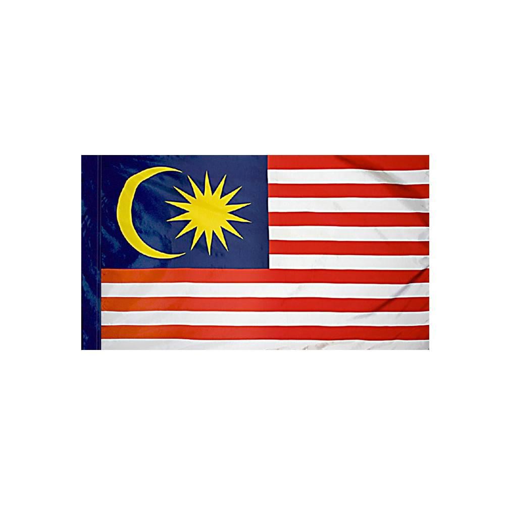 Malaysia Flag with Polesleeve
