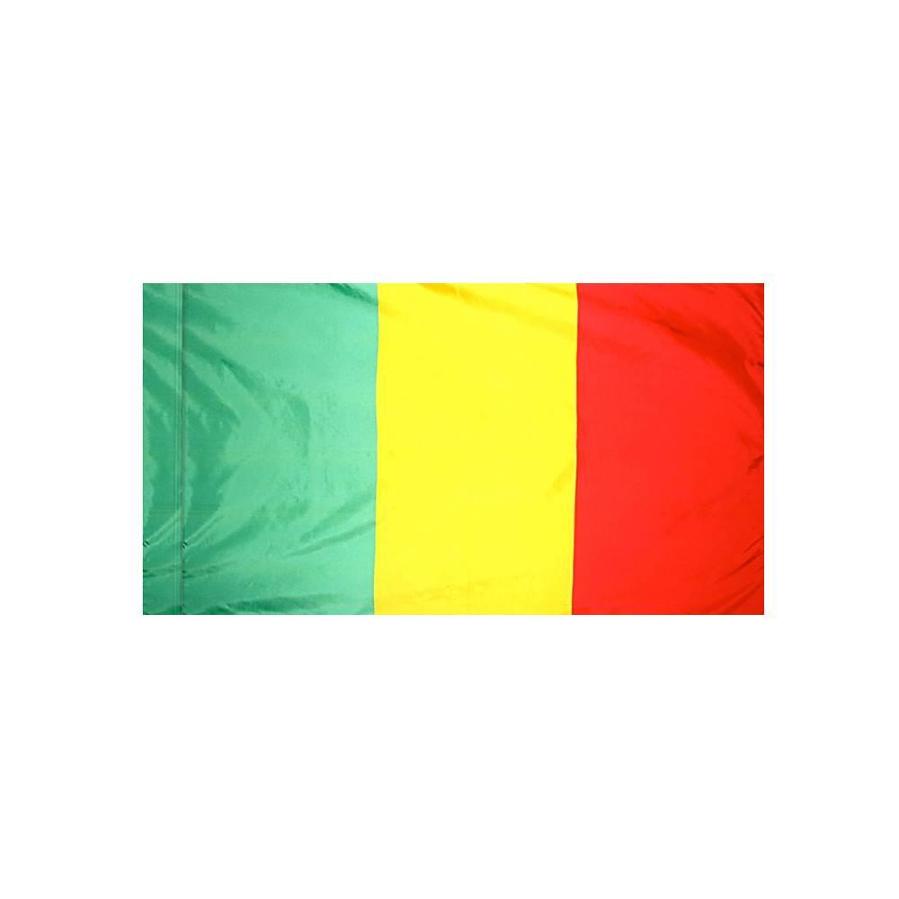 Mali Flag with Polesleeve