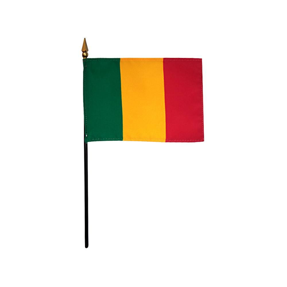 Mali Stick Flag 4x6 in