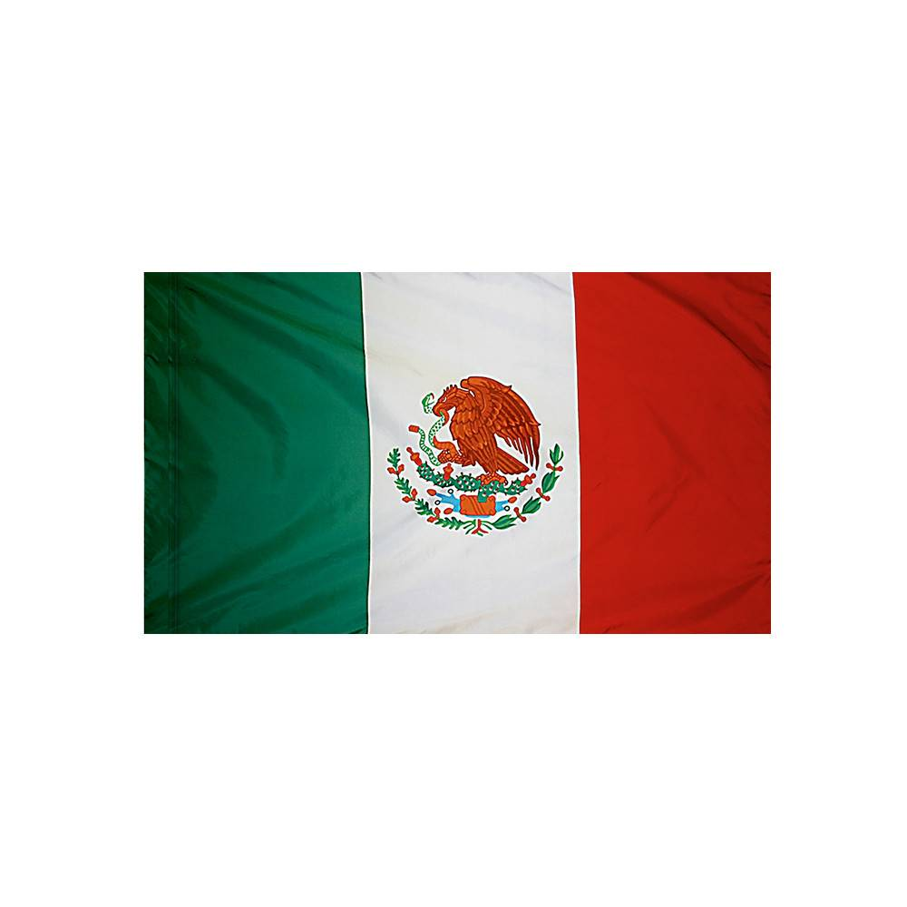 Mexico Flag with Polesleeve