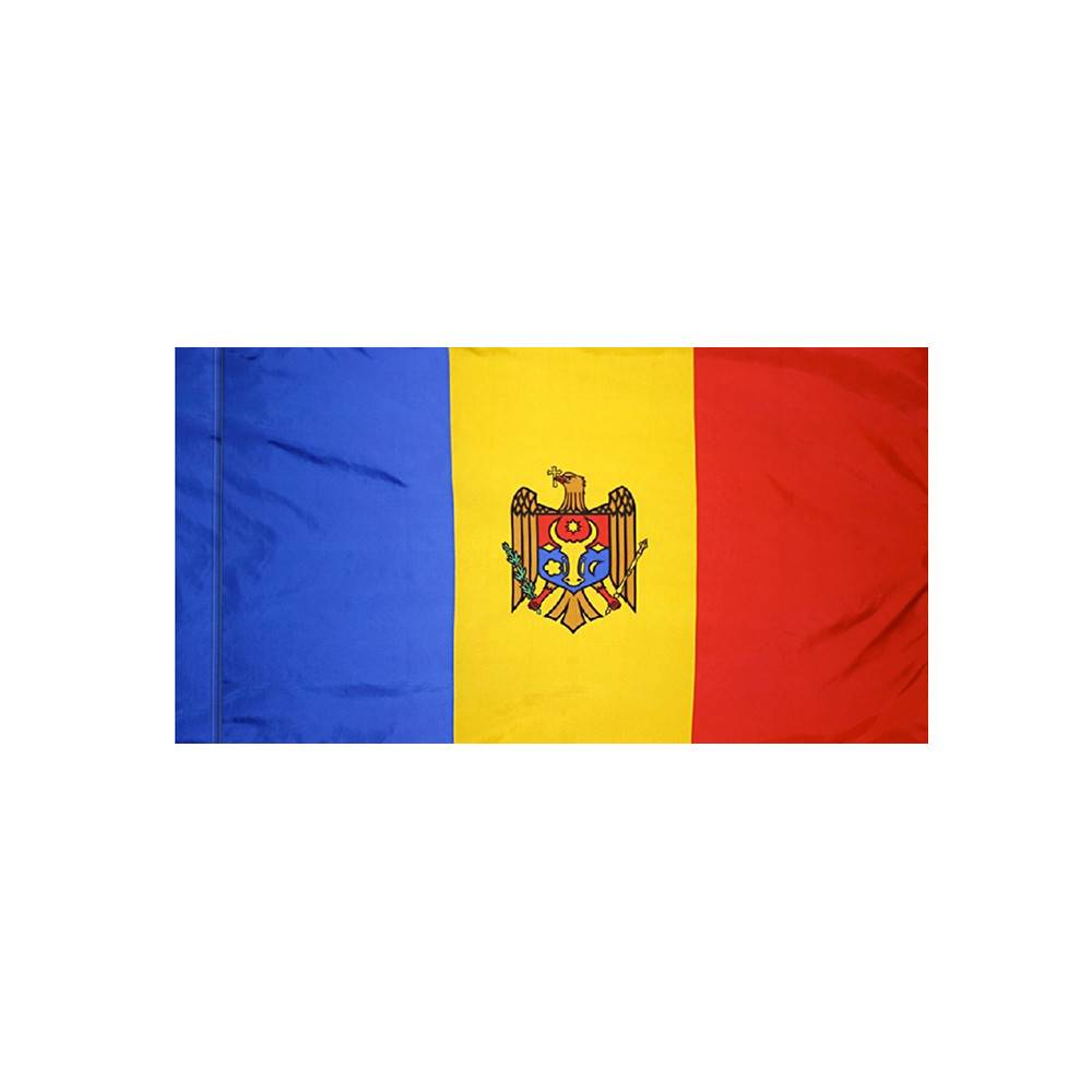 Moldova Flag with Polesleeve