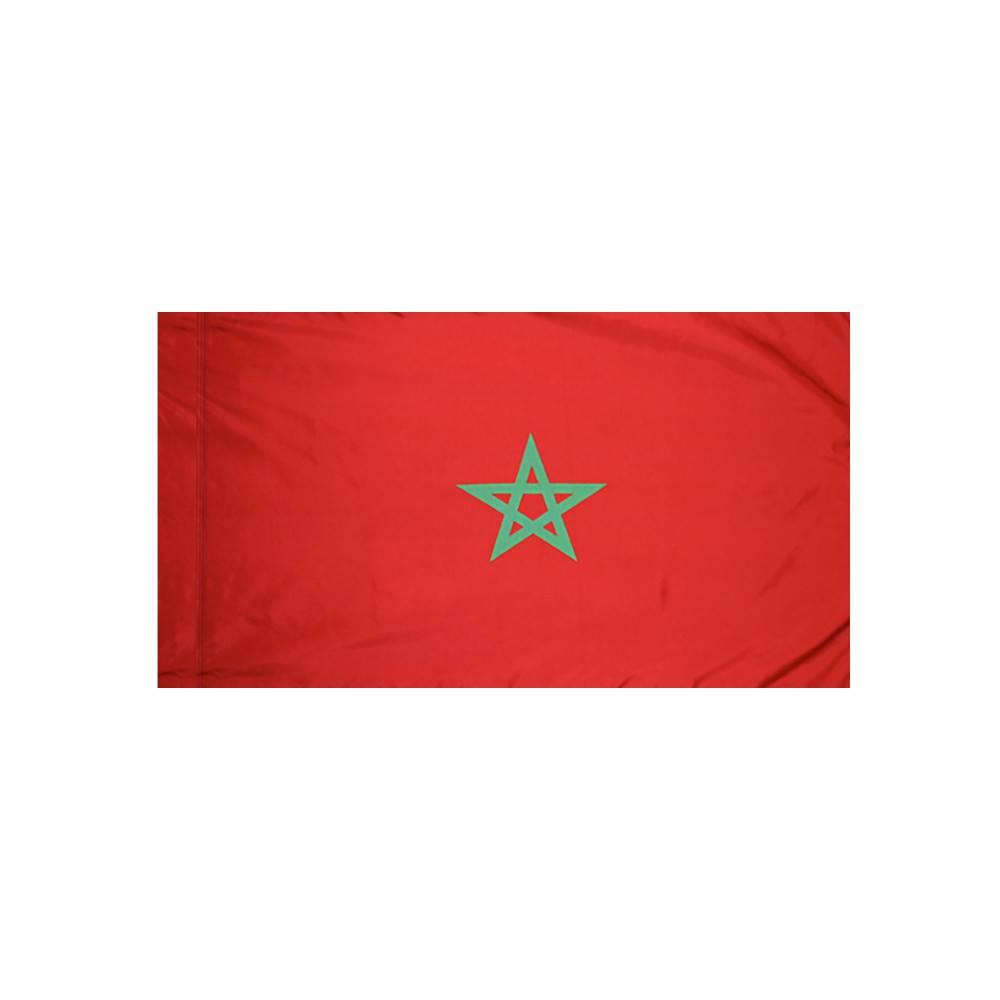Morocco Flag with Polesleeve