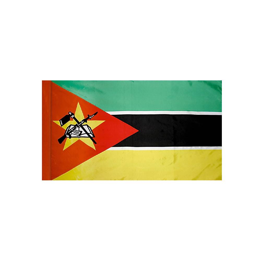 Mozambique Flag with Polesleeve