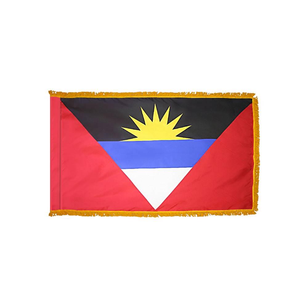 Antigua & Barbuda Flag - Indoor & Parade with Fringe