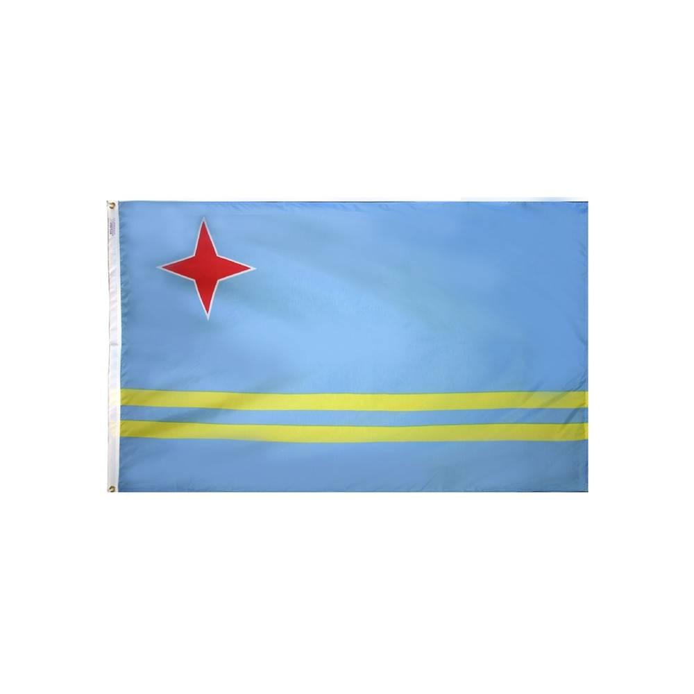 Aruba Flag - All-Weather Nylon