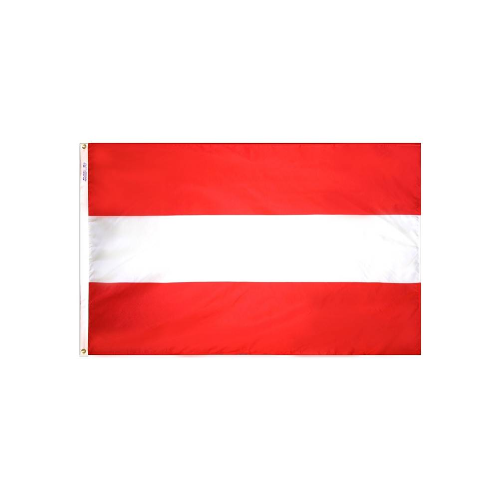 Austria Nautical Courtesy Flag
