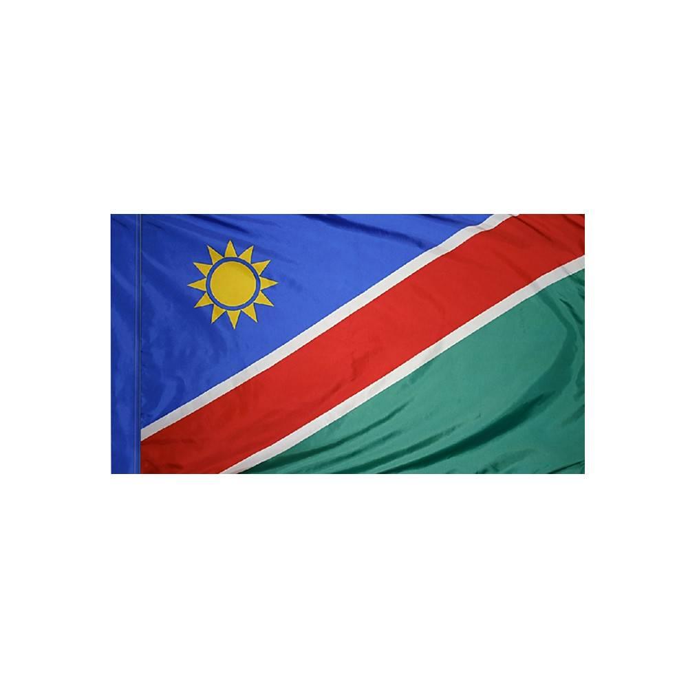 Namibia Flag with Polesleeve