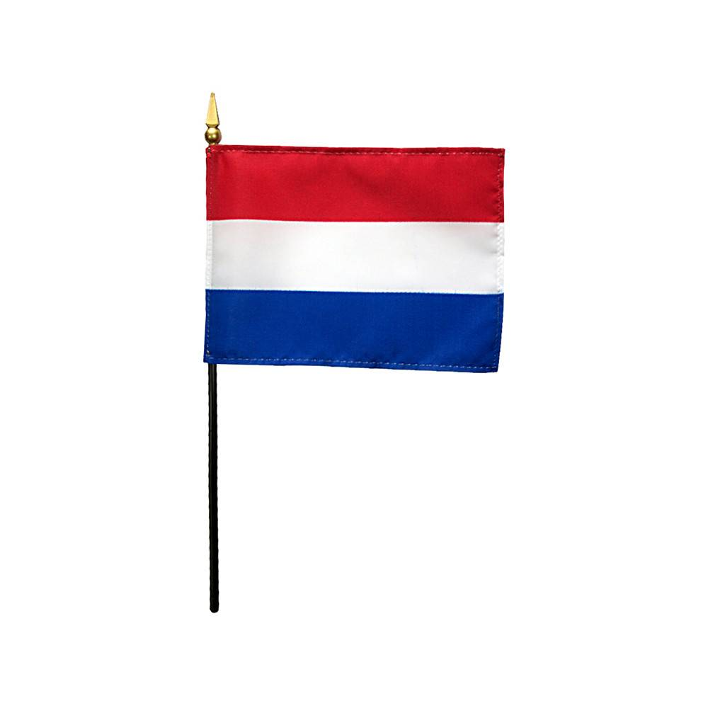 Netherlands Stick Flag