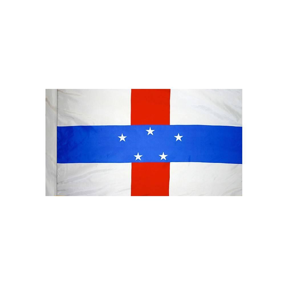Netherlands Antilles Flag with Polesleeve