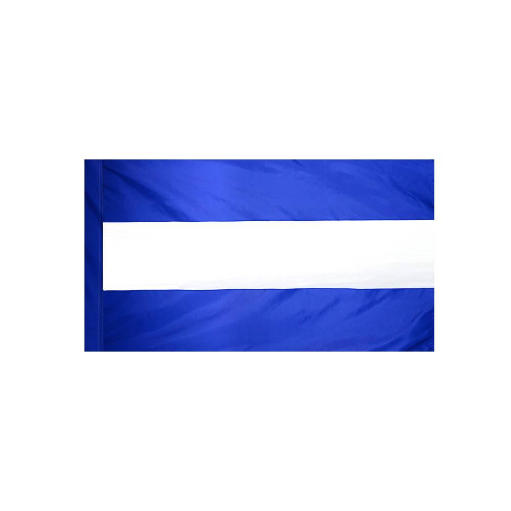 Nicaragua Flag with Polesleeve - No Seal