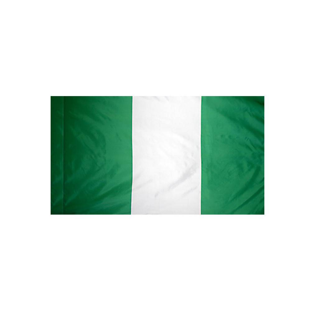 Nigeria Flag with Polesleeve