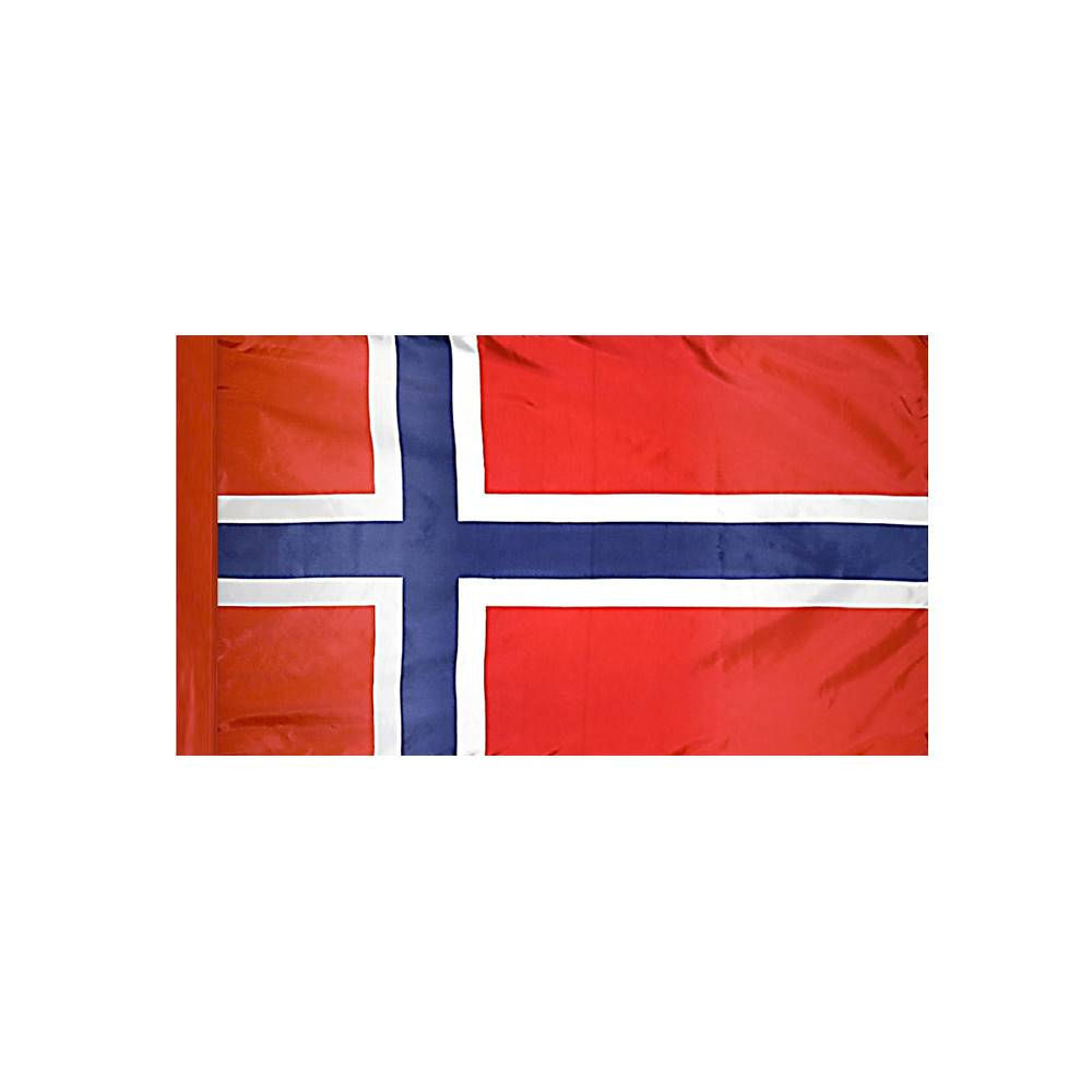 Norway Flag with Polesleeve