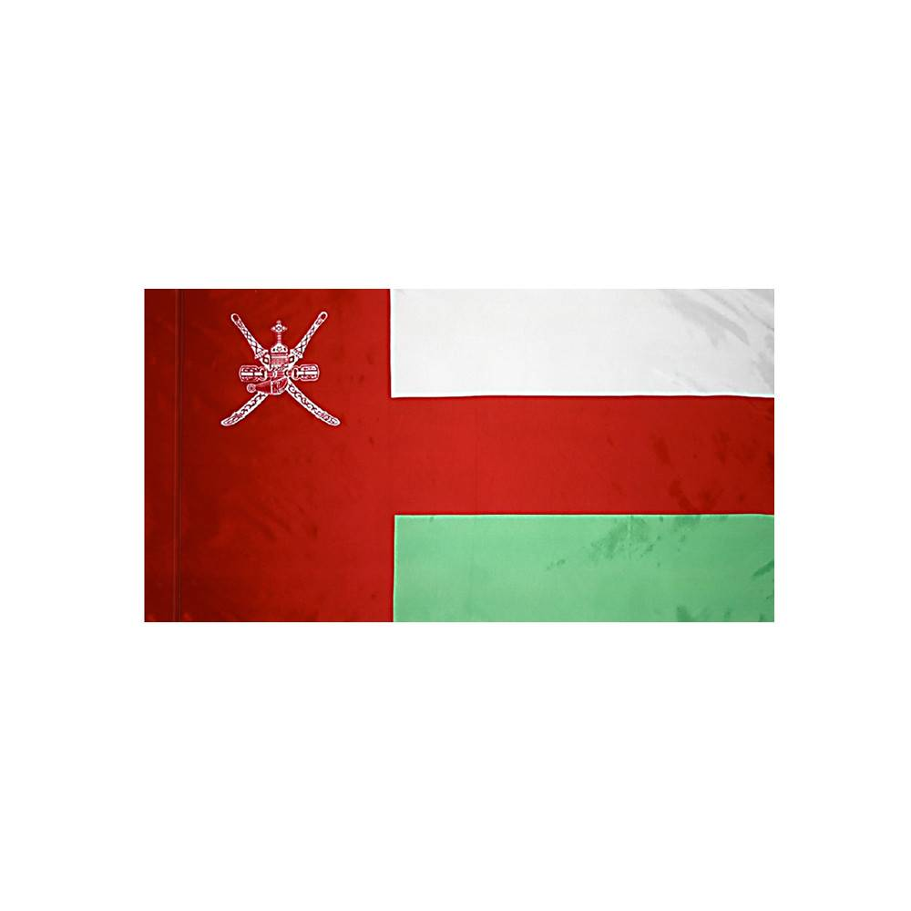 Oman Flag with Polesleeve