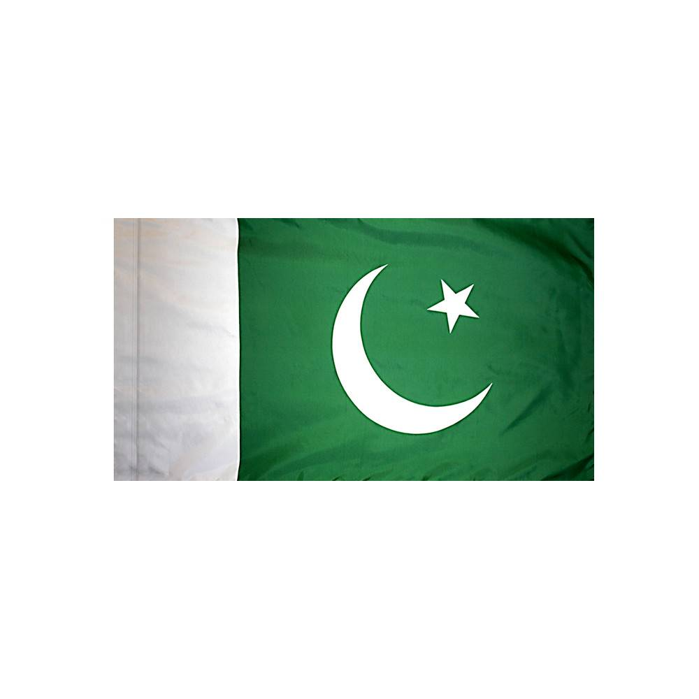 Pakistan Flag with Polesleeve