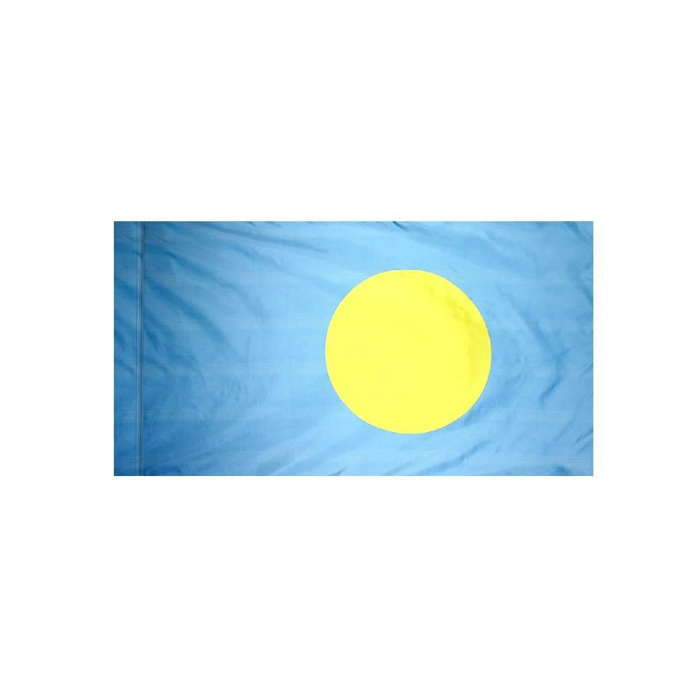 Palau Flag with Polesleeve