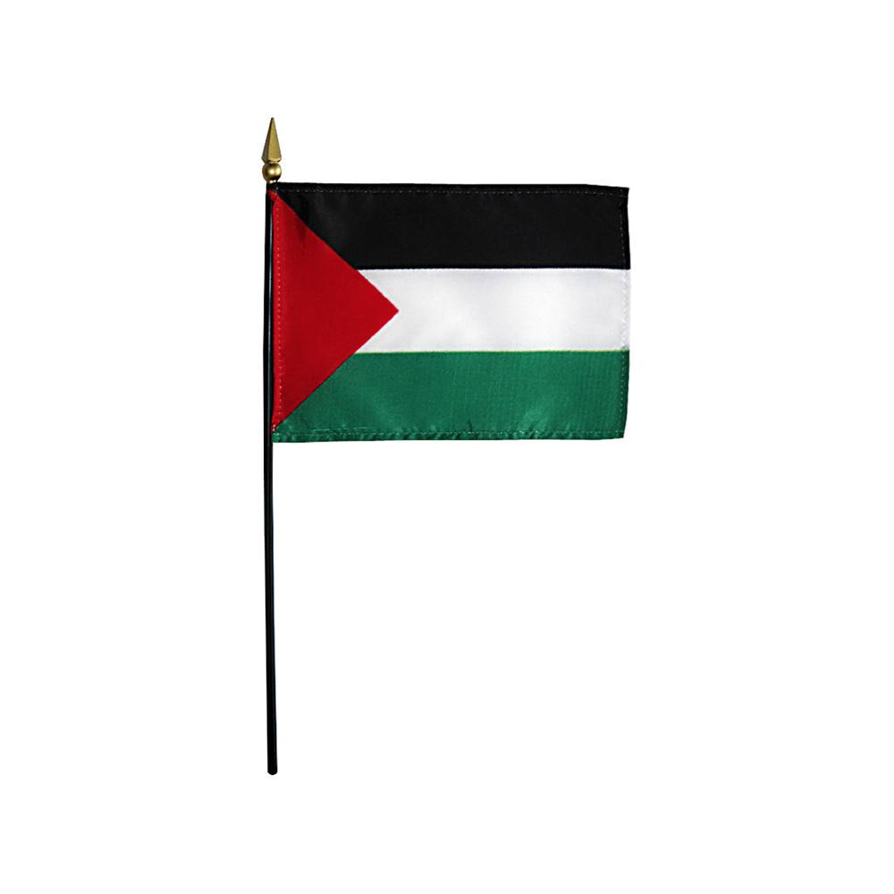 Palestine Stick Flag 4x6 in