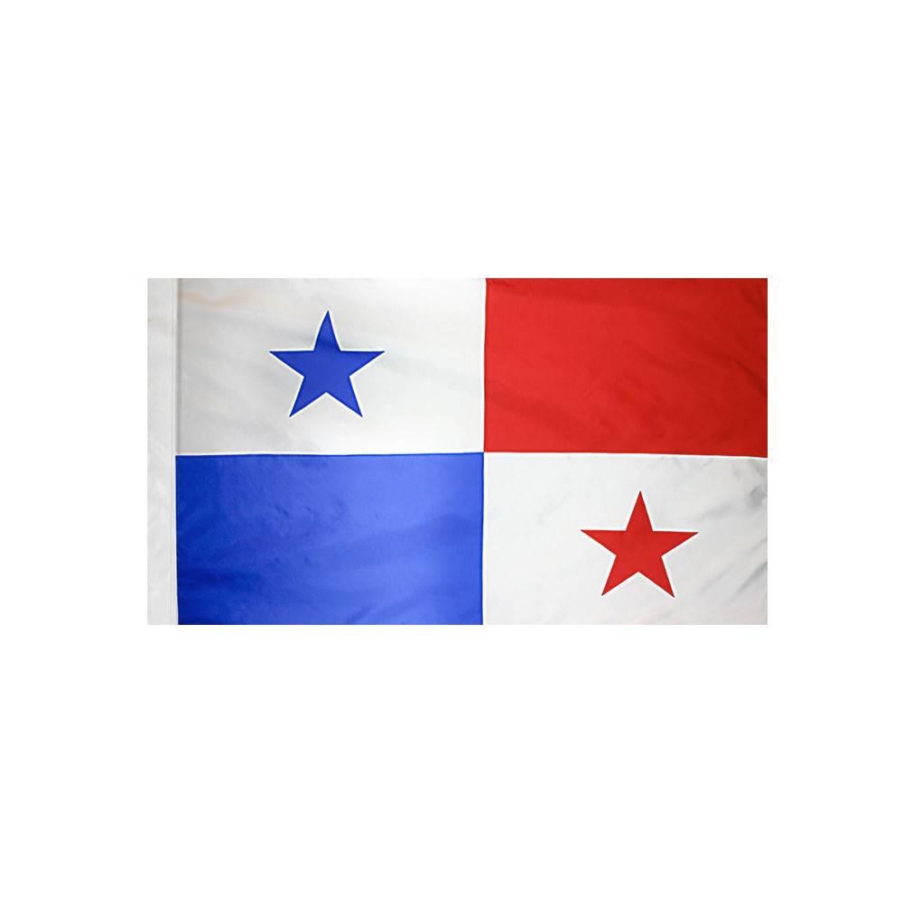 Panama Flag with Polesleeve