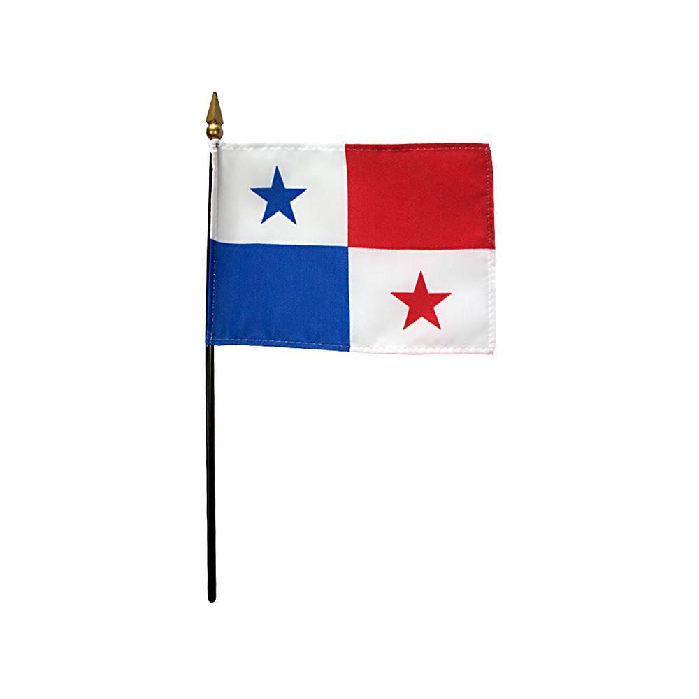Panama Stick Flag 4x6 in