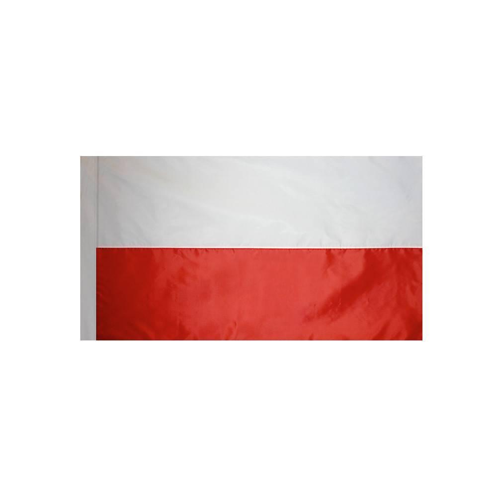 Poland Flag with Polesleeve