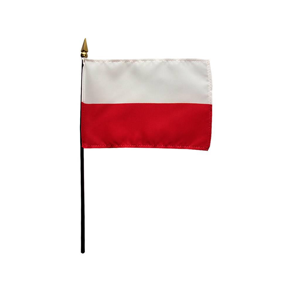 Poland Stick Flag