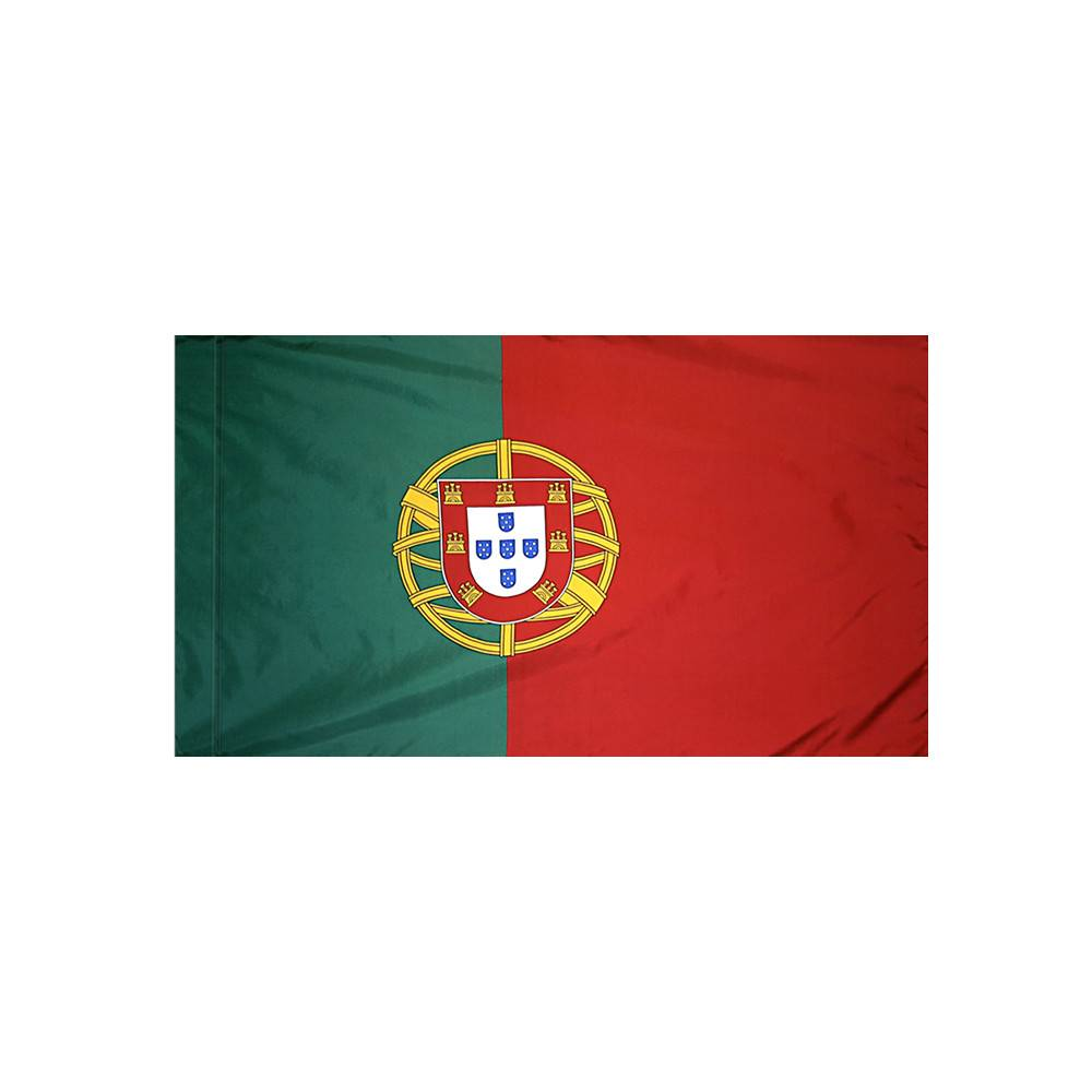 Portugal Flag with Polesleeve