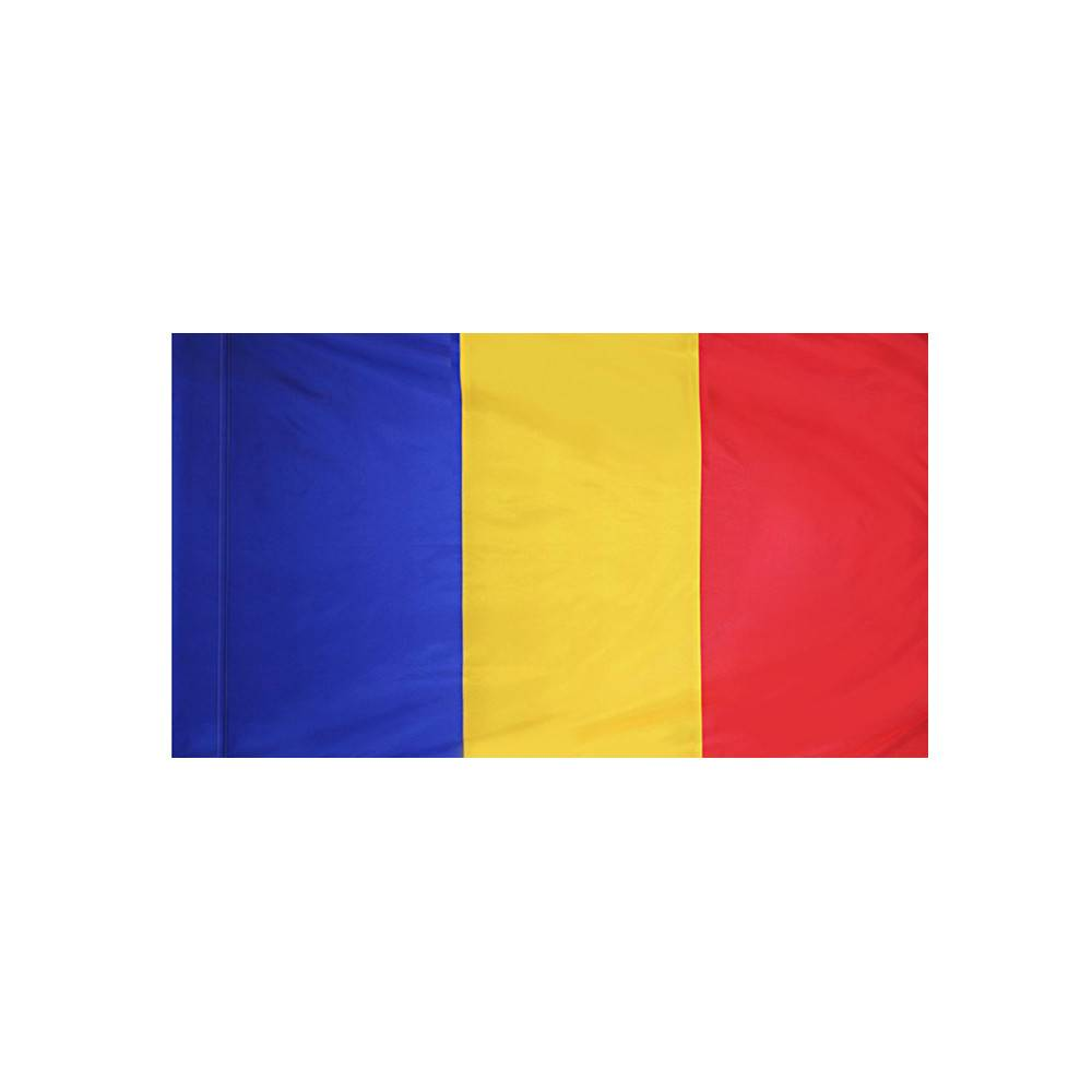 Romania Flag with Polesleeve
