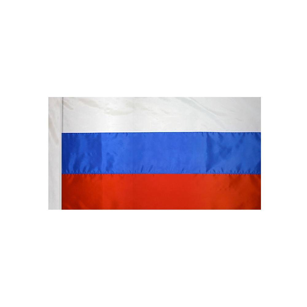 Russia Flag with Polesleeve