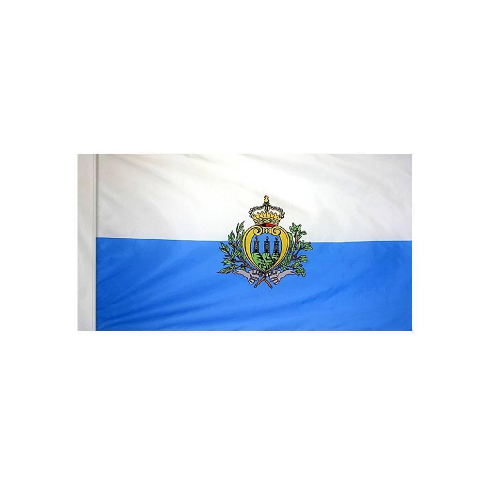 San Marino Flag with Polesleeve