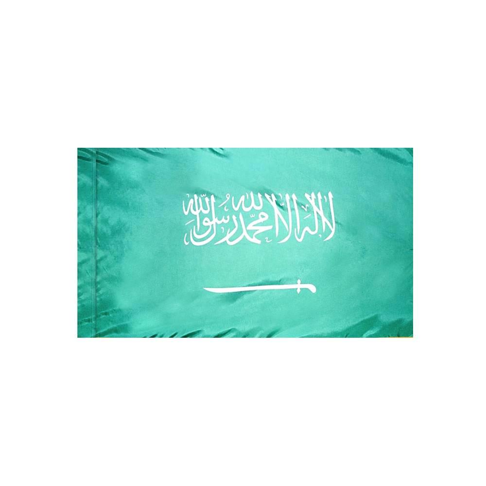 Saudi Arabia Flag with Polesleeve