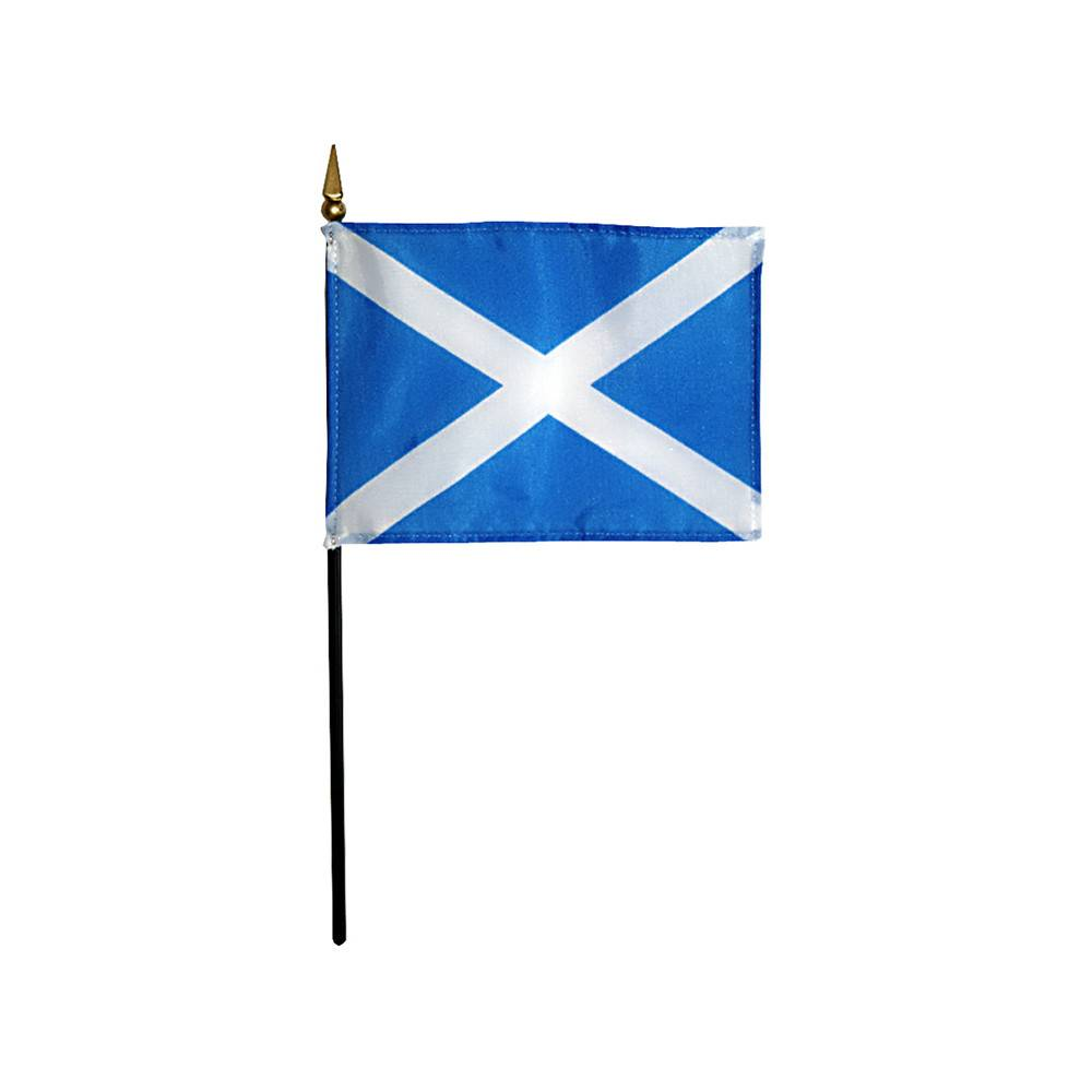 Saint Andrew's Cross Stick Flag