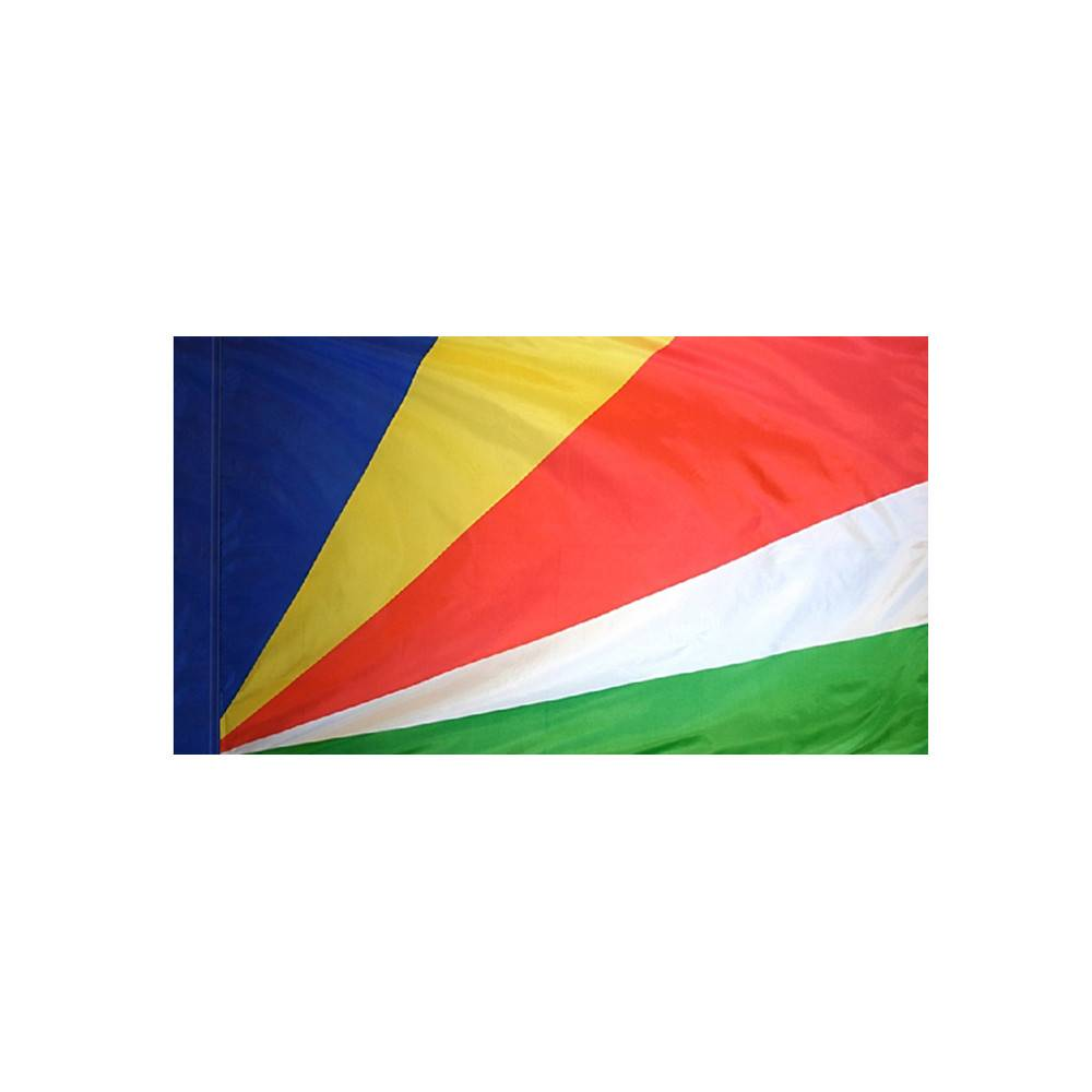 Seychelles Flag with Polesleeve