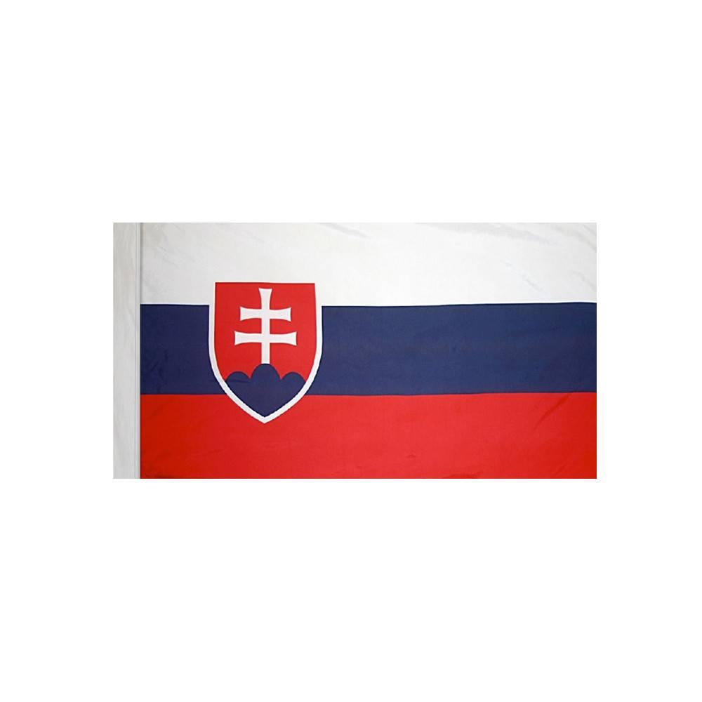 Slovakia Flag with Polesleeve