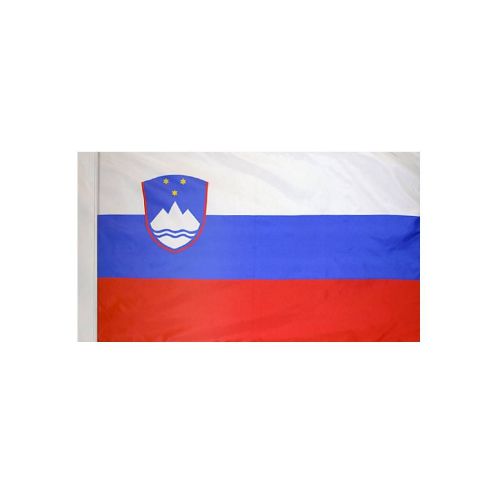 Slovenia Flag with Polesleeve