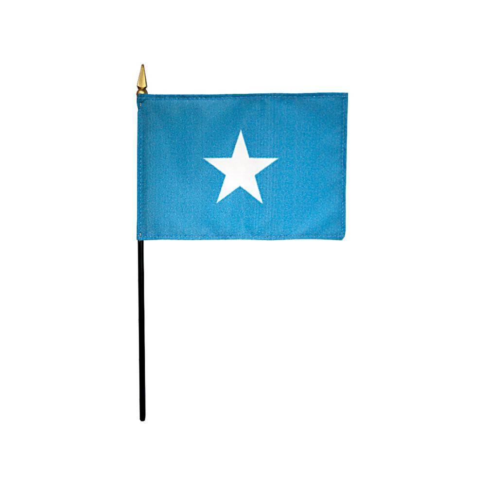 Somalia Stick Flag 4x6 in