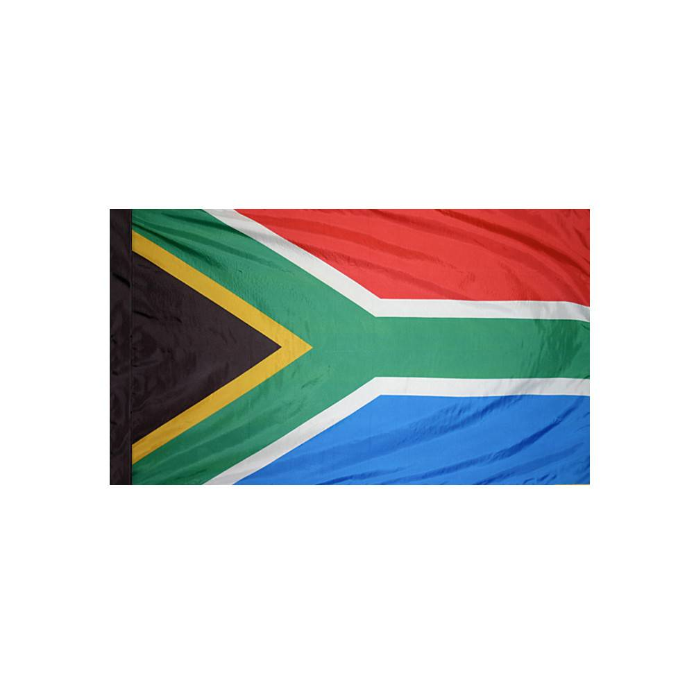 South Africa Flag with Polesleeve