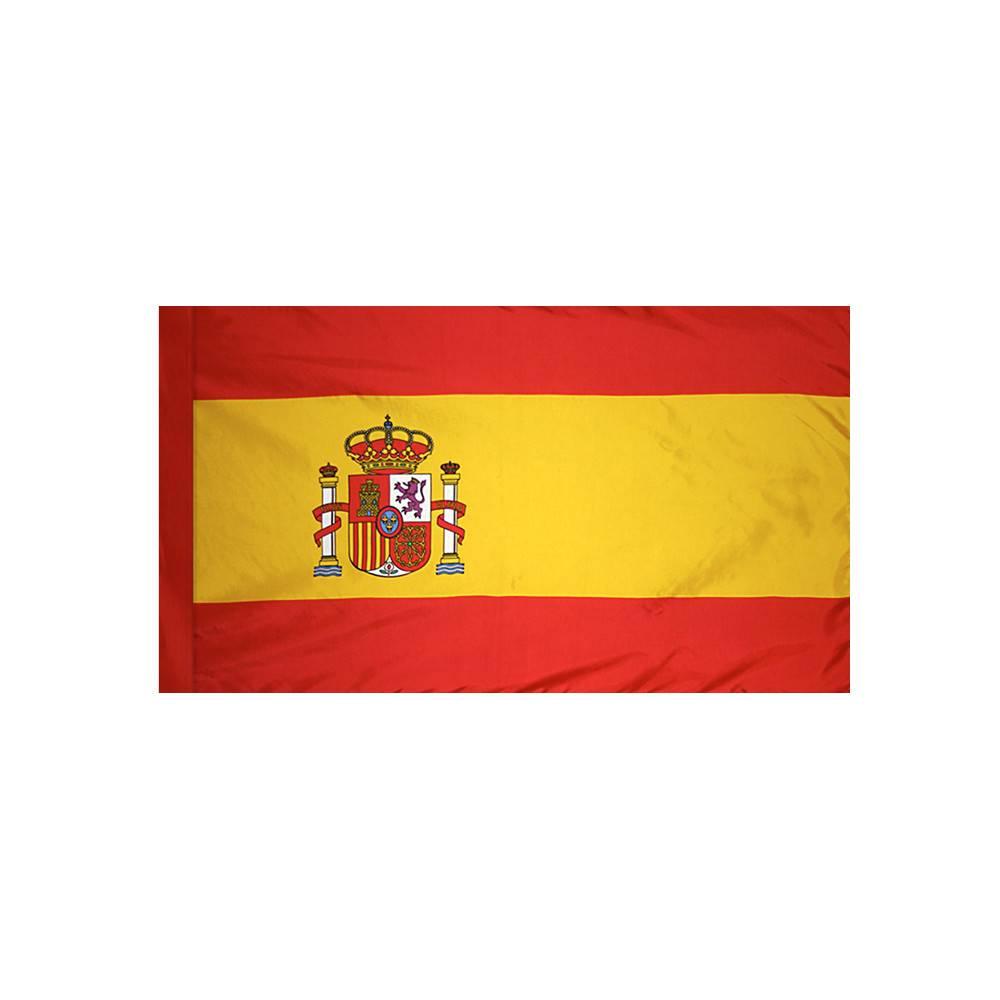 Spain Flag with Polesleeve