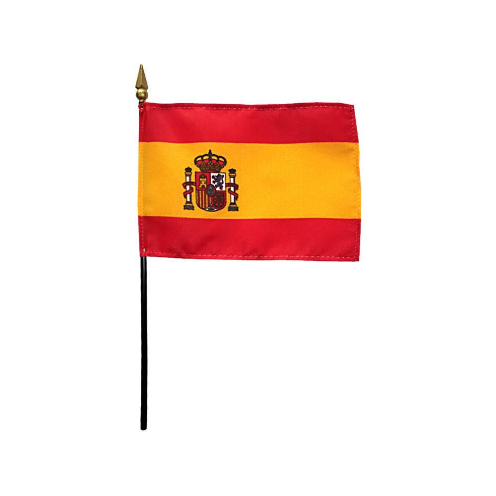 Spain Stick Flag