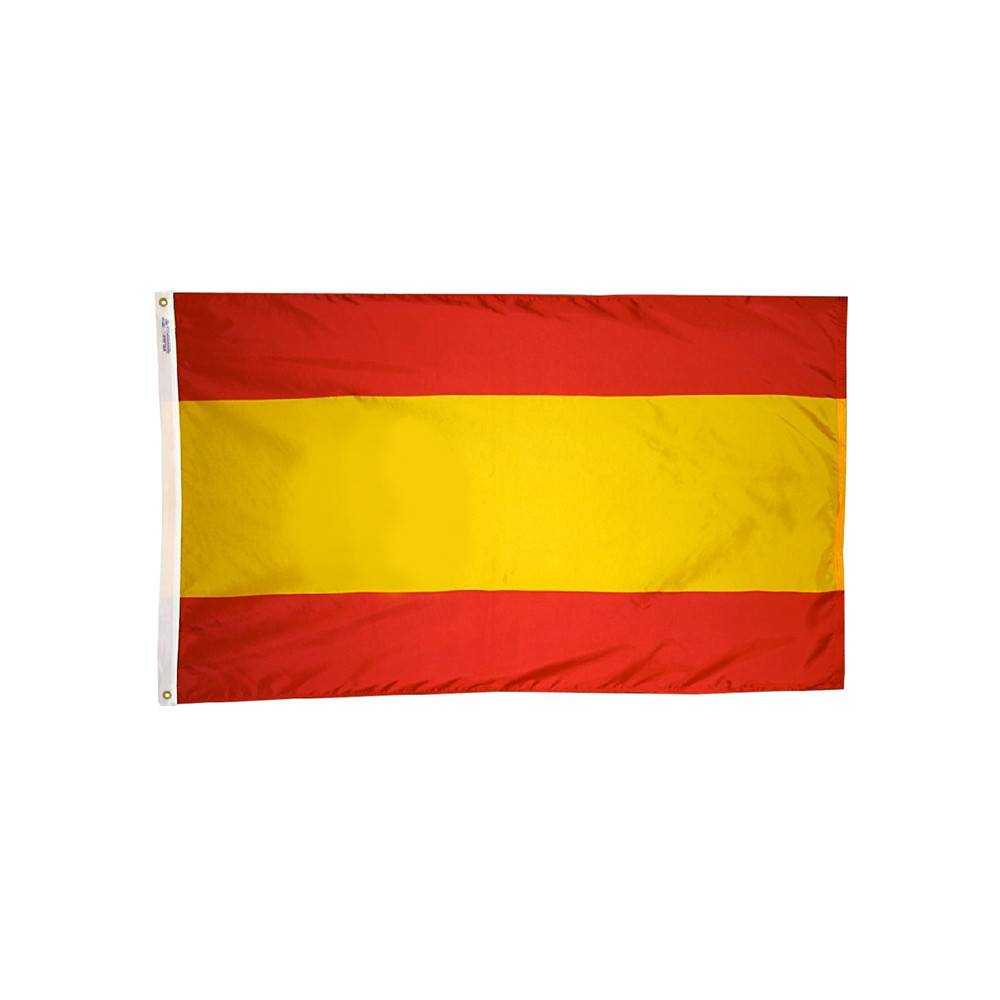 Spain Flag without Seal