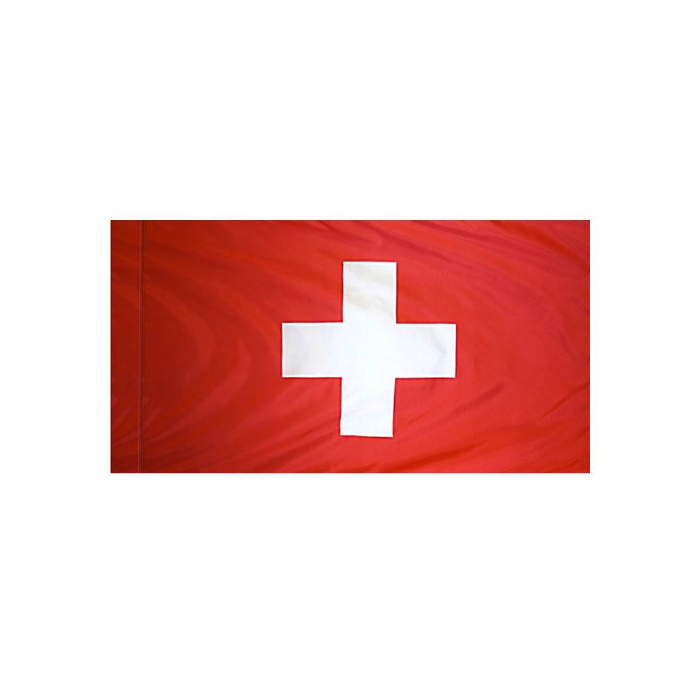 Switzerland Flag with Polesleeve