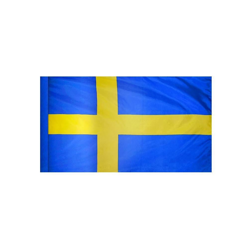 Sweden Flag with Polesleeve