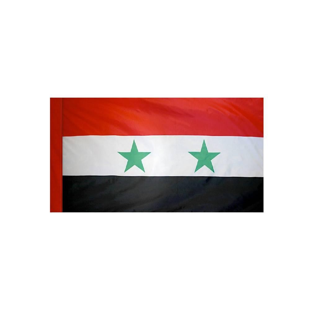 Syria Flag with Polesleeve