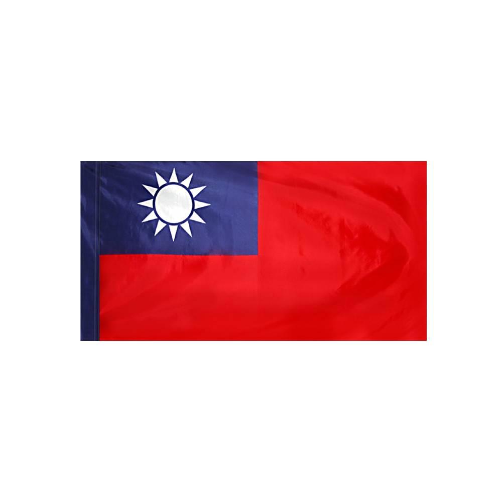 Taiwan Flag with Polesleeve