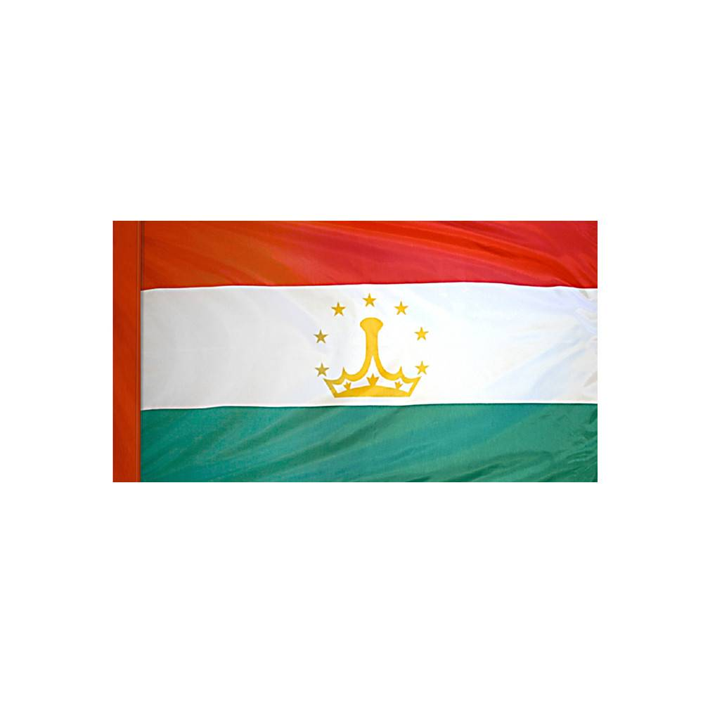 Tajikistan Flag with Polesleeve