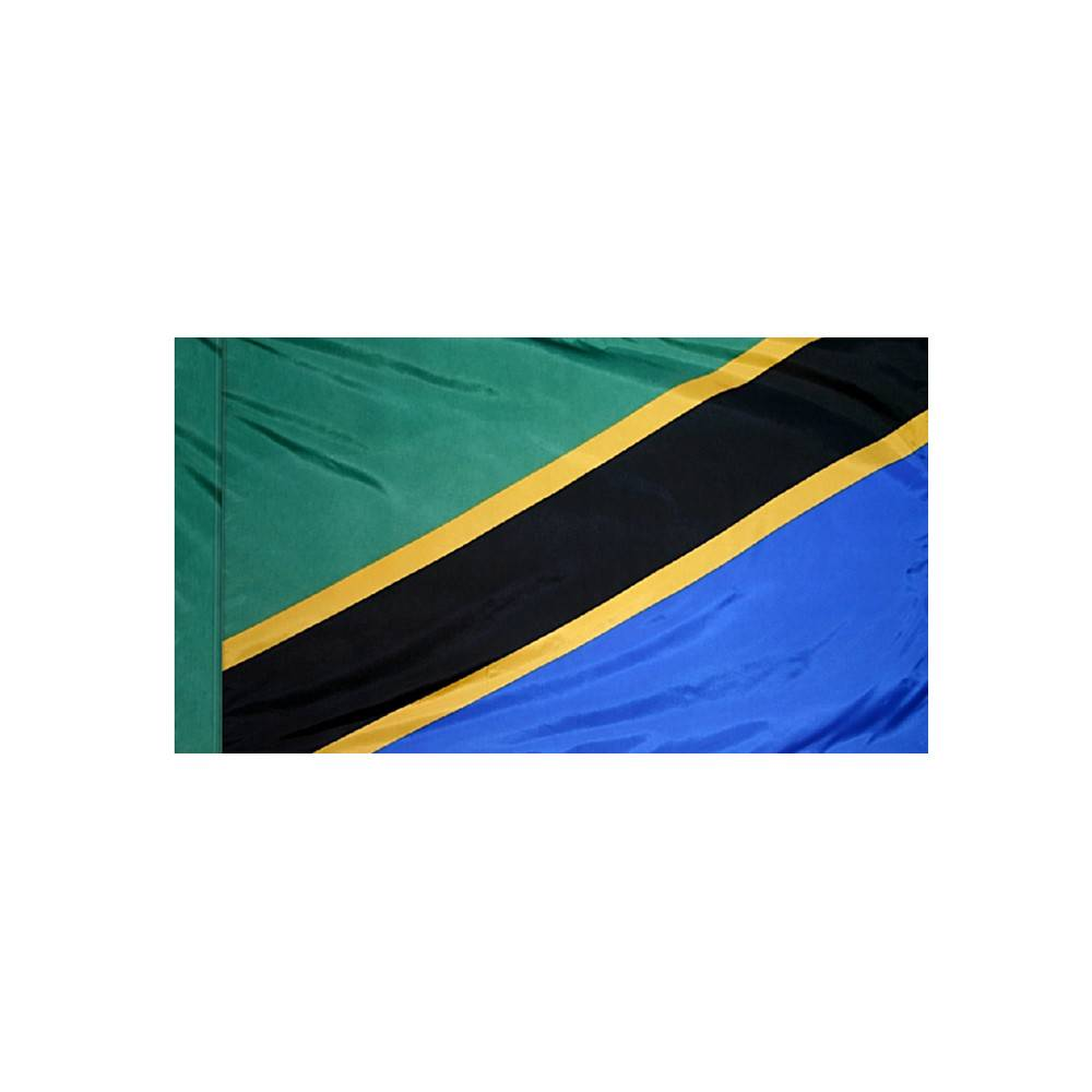 Tanzania Flag with Polesleeve