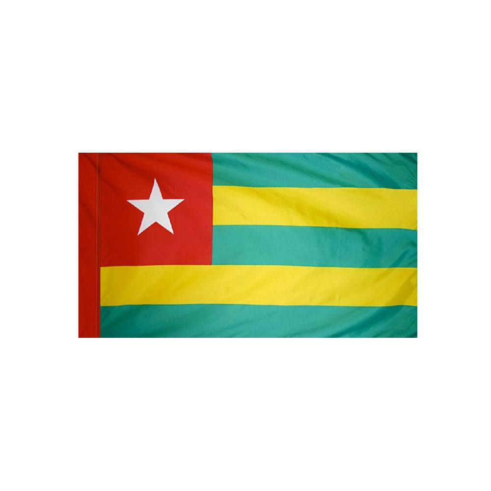Togo Flag with Polesleeve