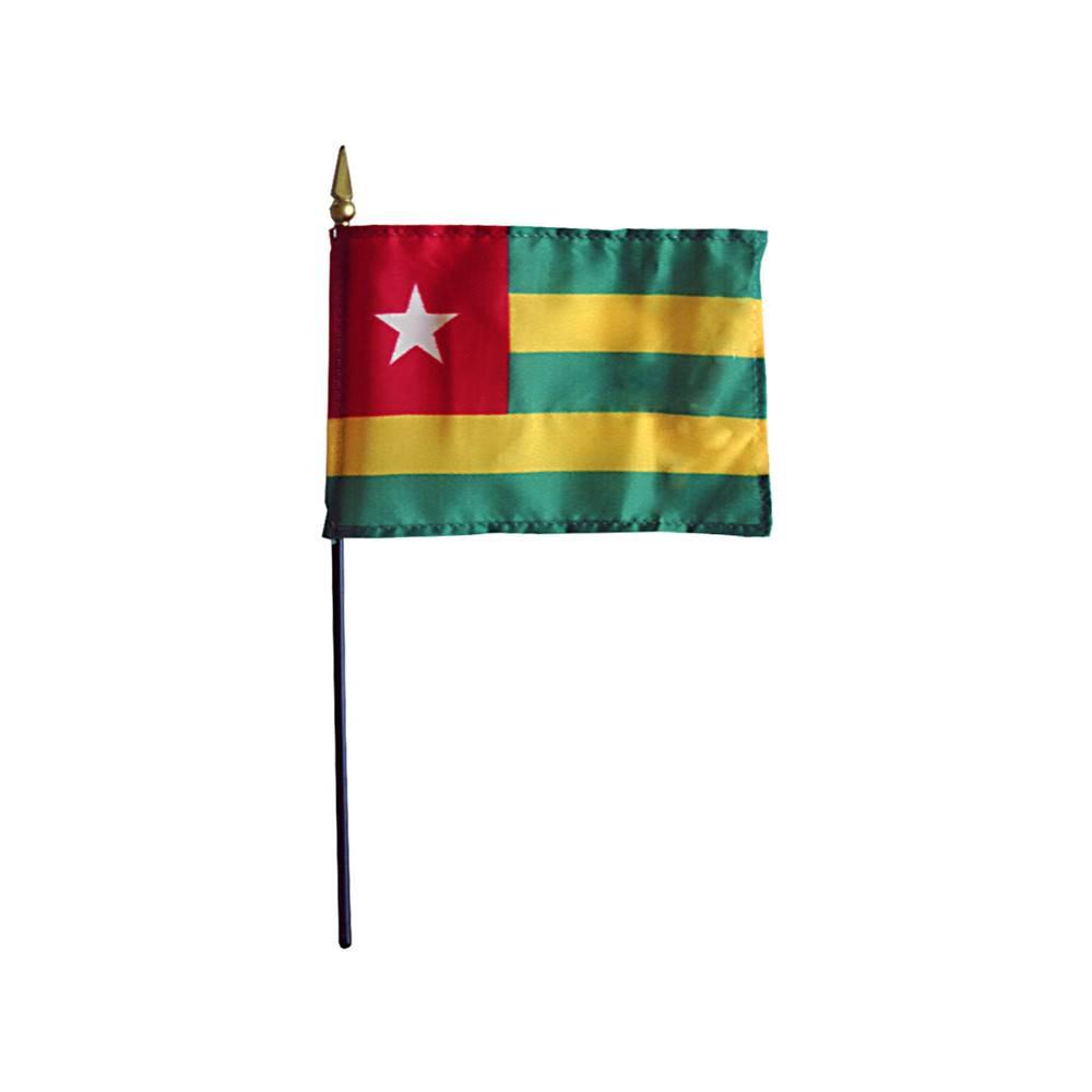 Togo Stick Flag 4x6 in