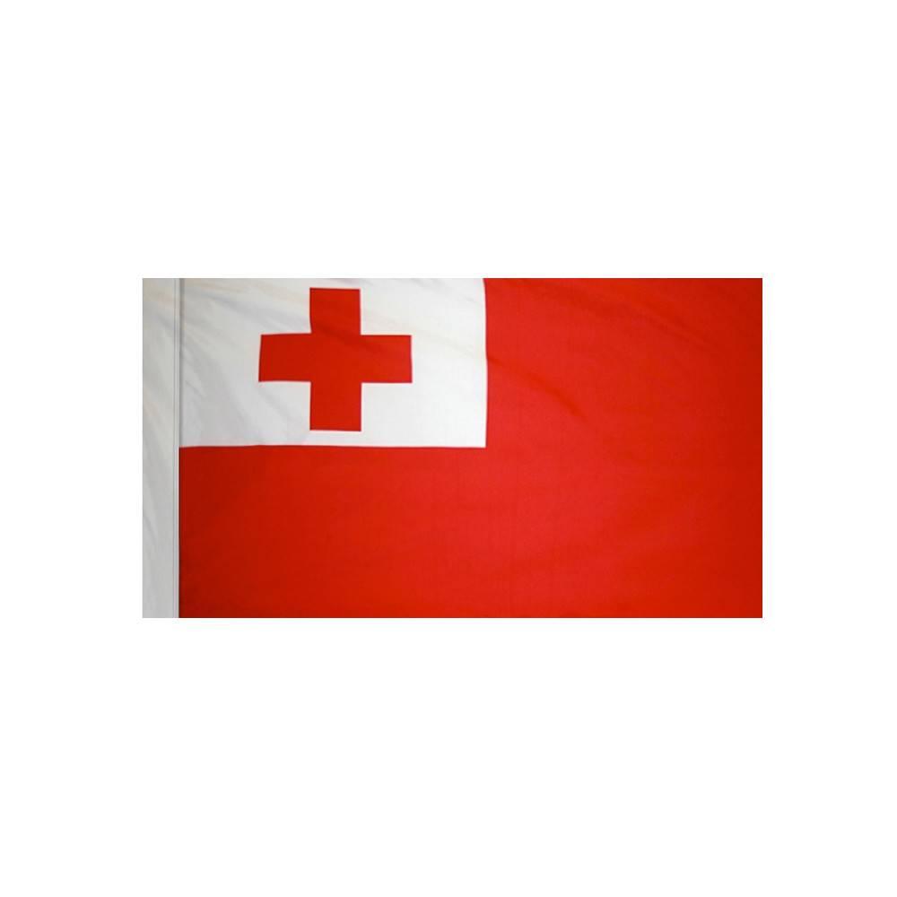Tonga Flag with Polesleeve