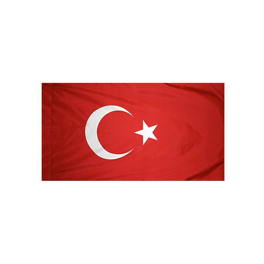 Turkey Flag with Polesleeve