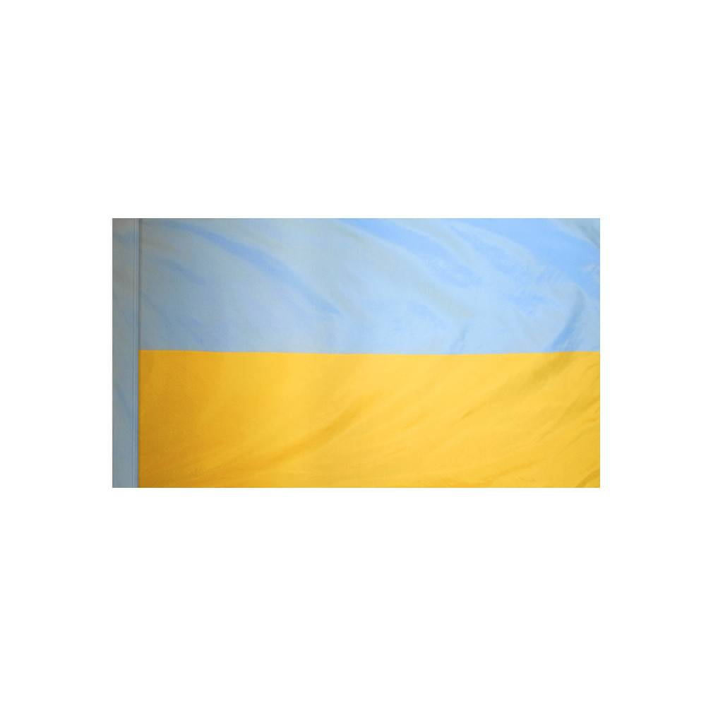 Ukraine Flag with Polesleeve